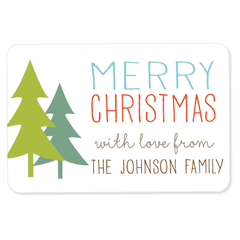 "evergreen gift labels | 2"" x 3"""