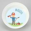 personalized mealtime set | firefighter