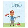 personalized puzzle | firefighter