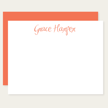 personalized note cards | grace