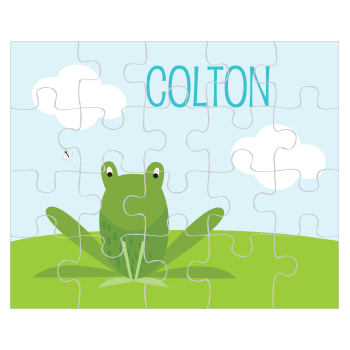 personalized puzzle | frog