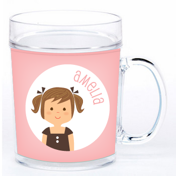 personalized cup | girl
