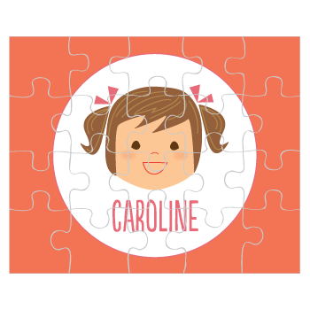 personalized puzzle | girl