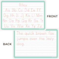 practice your handwriting placemat | print