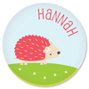 personalized mealtime set | hedgehog