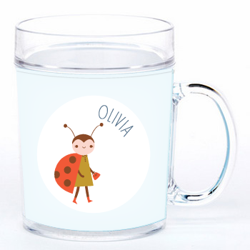 personalized cup | ladybug