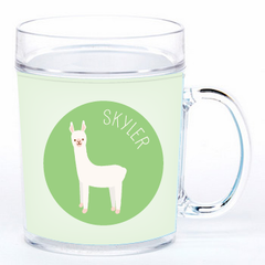 personalized cup | llama