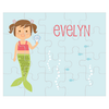 personalized puzzle | mermaid