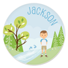 great outdoors plate | boy