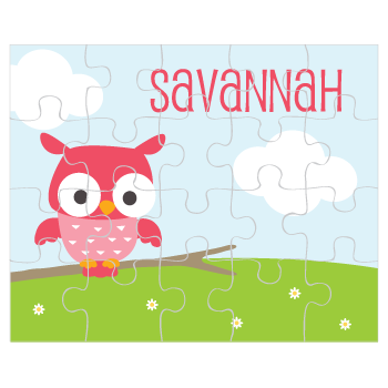 personalized puzzle | owl
