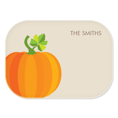 personalized platter | pumpkin