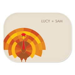 personalized platter | turkey