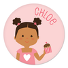 Valentine's Day plate | girl