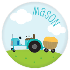 personalized plate | tractor
