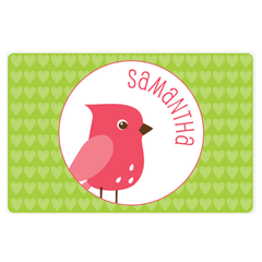 Valentine's Day placemat | bird
