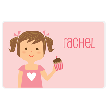 Valentine's day placemat | girl