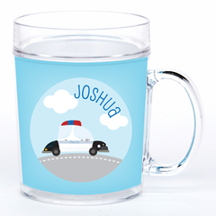 personalized cup | police car