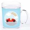 personalized mealtime set | race car