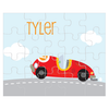 personalized puzzle | race car