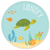 personalized plate | sea turtle