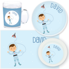 personalized mealtime set | astronaut