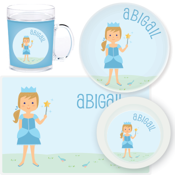 personalized mealtime set | princess
