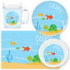 personalized mealtime set | turtle