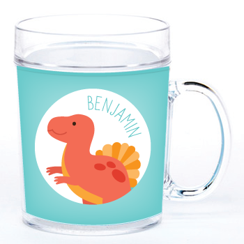 personalized cup | spinosaurus