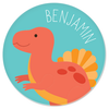 personalized plate | spinosaurus