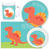 personalized mealtime set | spinosaurus