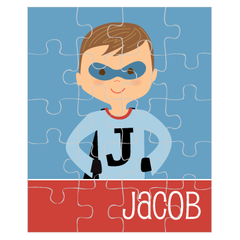 personalized puzzle | superhero boy