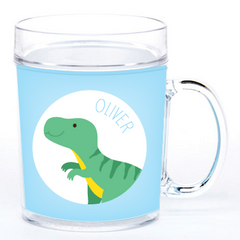 personalized cup | T-Rex