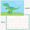 personalized kids placemat | T-Rex