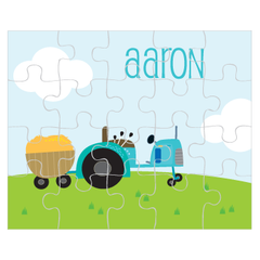 personalized puzzle | tractor