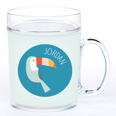personalized cup | toucan