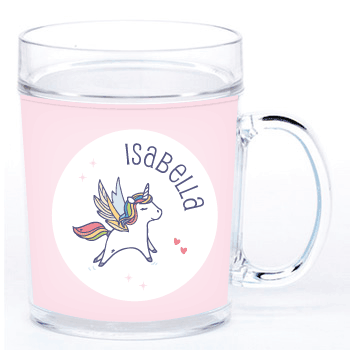 personalized cup | pink unicorn
