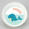 personalized mealtime set | cheerful whale