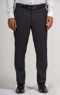 Cosiani Charcoal Wool Blend Dress Pants