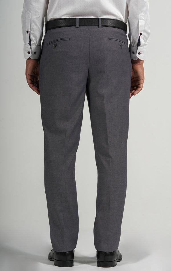 Cosiani Light Grey Wool Blend Dress Pants