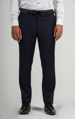 Cosiani Navy Wool Cashmere Dress Pants