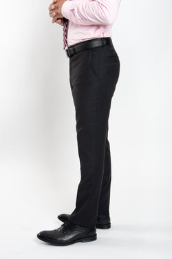 Cosiani Charcoal Wool Cashmere Dress Pants