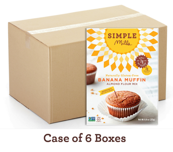 Wholesale Banana Almond Flour Muffins & Bread