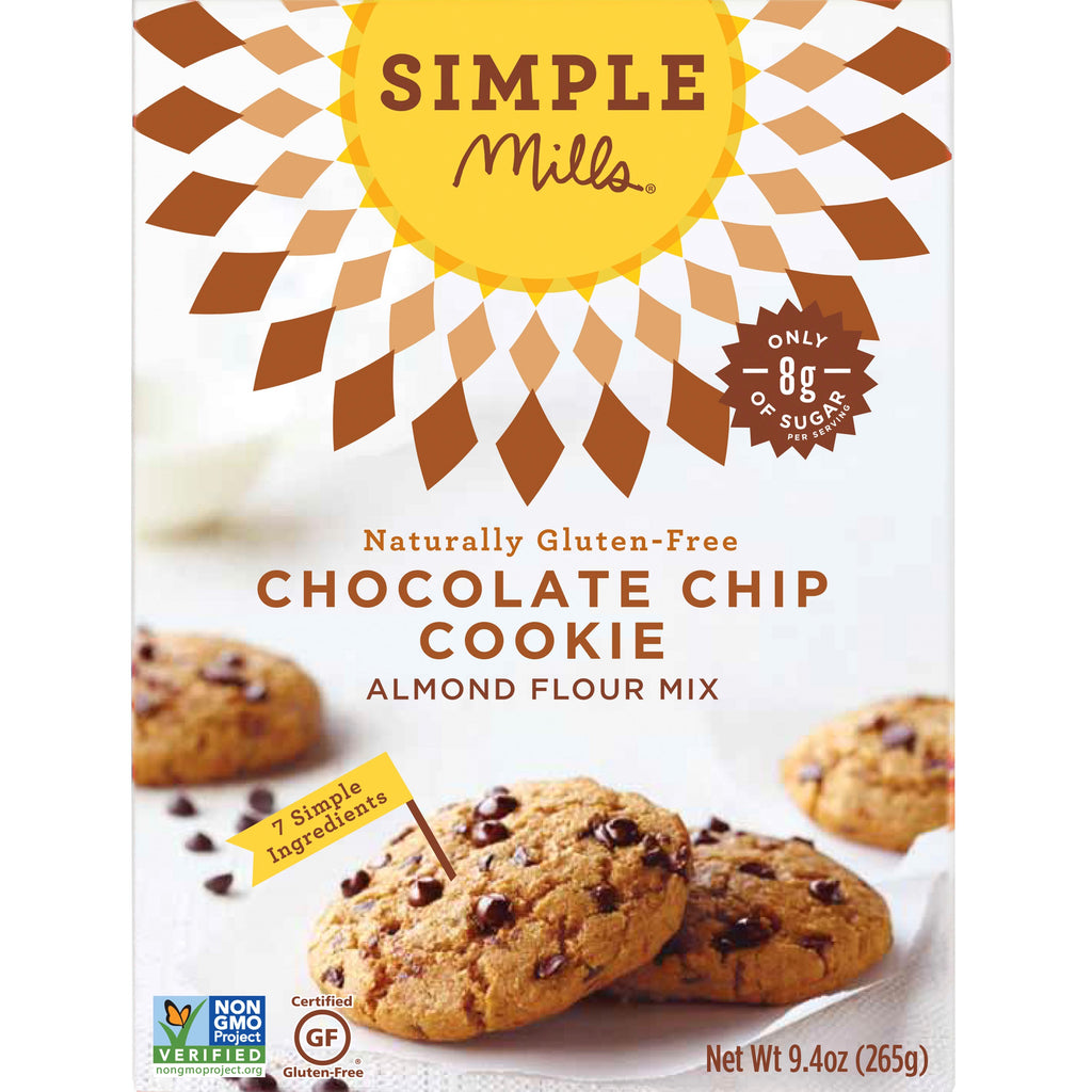 Simple Chocolate Chip Cookie Recipe 2 Ingredients Cake Mixes