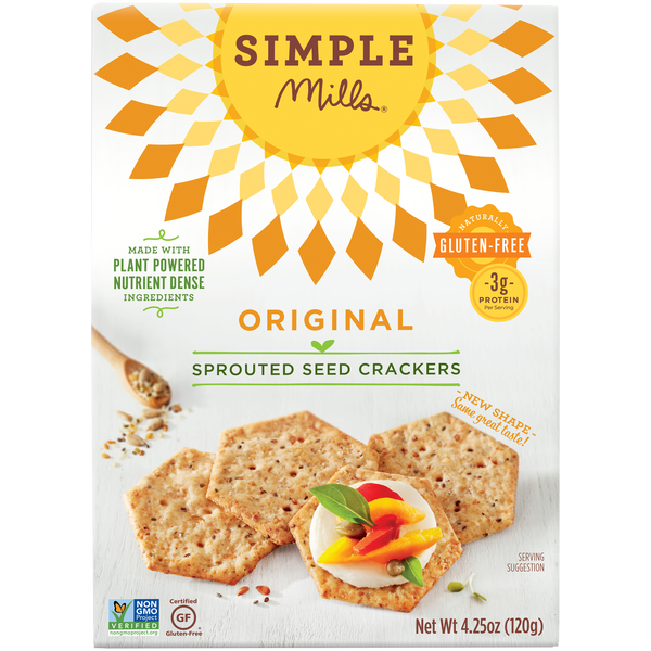 Original Sprouted Seed Crackers