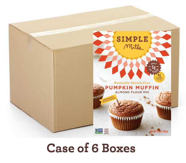 Wholesale Pumpkin Almond Flour Muffins