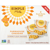 Farmhouse Cheddar Almond Flour Cracker Snack Pack