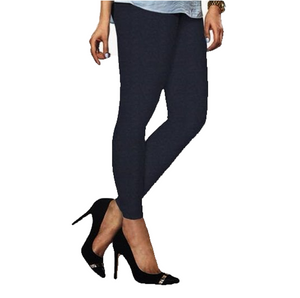 100 Deep Navy Indian Churidar Legging 4Way Strech One Size : Fits All Adults