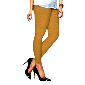 101 Yellow Gold Indian Churidar Legging 4Way Strech One Size : Fits All Adults