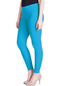 110 Blue Sapphire Indian Churidar Legging 4Way Strech One Size : Fits All Adults