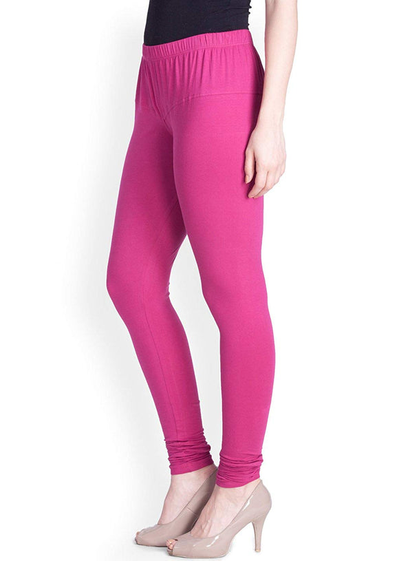115 Candy Pink Indian Churidar Legging 4Way Strech One Size : Fits All Adults